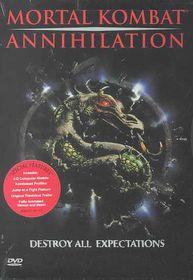 Mortal Kombat:Annihilation - (Region 1 Import DVD)