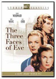 Three Faces of Eve - (Region 1 Import DVD)