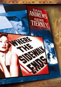 Where the Sidewalk Ends - (Region 1 Import DVD)