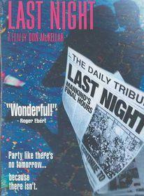 Last Night - (Region 1 Import DVD)