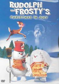 Rudolph and Frosty's Christmas In July - (Region 1 Import DVD)