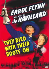 They Died with Their Boots on - (Region 1 Import DVD)