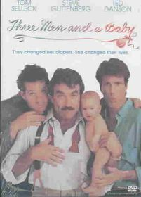 Three Men and a Baby - (Region 1 Import DVD)
