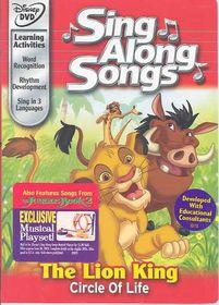 Sing Along Songs:Lion King Circle - (Region 1 Import DVD)