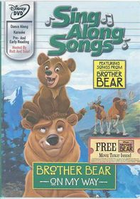 Brother Bear:on My Way Sing Along - (Region 1 Import DVD)