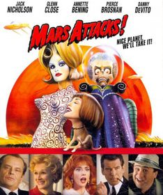 Mars Attacks - (Region A Import Blu-ray Disc)