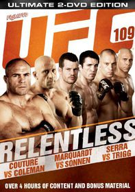 Ultimate Fighting Championship: 109 - Relentless - (Import DVD)