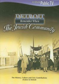 Detroit Remember when:Jewish Communit - (Region 1 Import DVD)