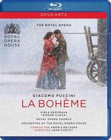 Puccini / Gerzmava / Dukach / Smoriginas / White - La Boheme (Blu-Ray)
