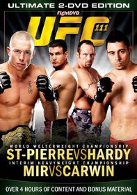 Ultimate Fighting Championship: 111 - St.Pierre Vs Hardy - (Import DVD)