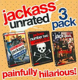 Jackass Unrated 3 Pack - (Region 1 Import DVD)