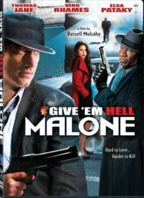 Give 'em Hell, Malone (2009)- (DVD)