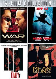 War/Black Mask/Limey/Mean Guns - (Region 1 Import DVD)