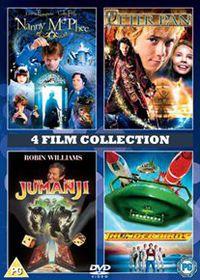 Nanny McPhee / Peter Pan / Jumanji / Thunderbirds - (Import DVD)