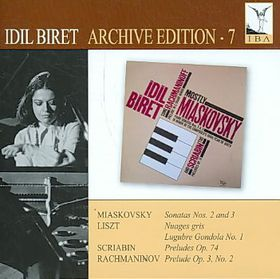 Idil Biret Archive - Piano Sonatas (CD)