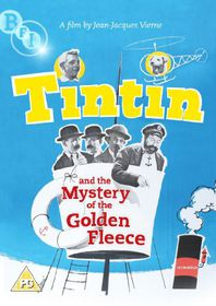 Tintin and the Mystery of the Golden Fleece - (Import DVD)