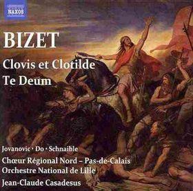 Bizet, Georges / Lille National Orch / Jovanovic - Clovis Et Clotilde: Te Deum (CD)