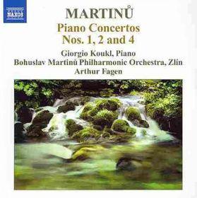 Martinu, Bohuslav / Koukl / Fagen - Piano Concertos Nos.1, 2 & 4 (CD)