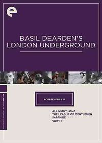 Eclipse 25:Basil Dearden's London Und - (Region 1 Import DVD)