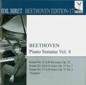 Beethoven / Biret - Idil Biret Beethoven Edition 17: Piano Sonatas 8 (CD)