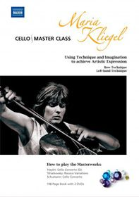 Cello Master Class by Maria Kliegel - (Region 1 Import DVD)