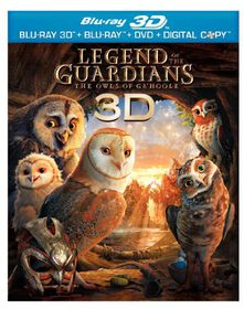 Legend of the Guardians:Owls 3d - (Region A Import Blu-ray Disc)