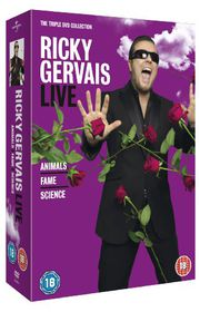 Ricky Gervais - Triple Collection - (Import DVD)