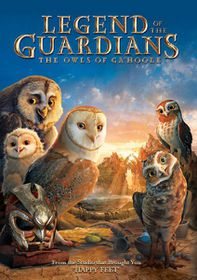 Legend of the Guardians: The Owls of Ga'Hoole (2010)(DVD)