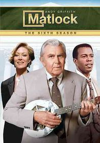 Matlock:Sixth Season - (Region 1 Import DVD)