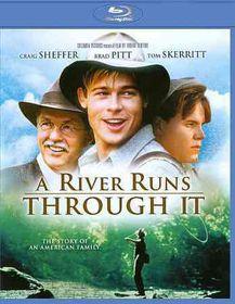 River Runs Through It - (Region A Import Blu-ray Disc)