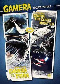 Gamera Vs Zigra/Gamera:Super Monster - (Region 1 Import DVD)