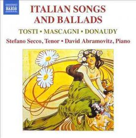 Tosti / Mascagni / Donaudy / Secco / Abramowitz - Italian Songs & Ballads (CD)