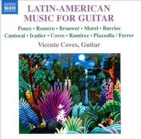 Coves / Morente / Ferrer / Ocana - Latin American Music For Guitar (CD)