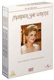 Murder She Wrote: Season 12 (Import DVD)