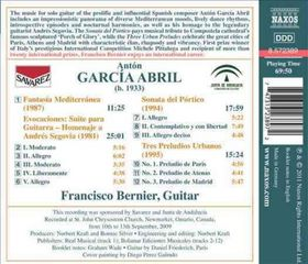 Garcia Abril: Guitar Music - Guitar Music (CD)