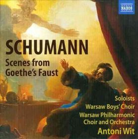 Schumann: Scenes From Goethe's Faust - Scenes From Goethe's Faust (CD)