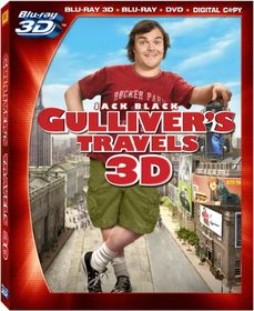 Gulliver's Travels 3D - (Region A Import Blu-ray Disc)