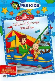 Best of Caillou:Caillou's Summer Vaca - (Region 1 Import DVD)