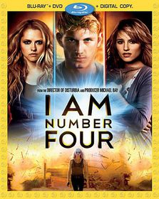 I Am Number Four - (Region A Import Blu-ray Disc)