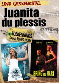 Juanita du Plessis -10 Jaar Platinum Treffers Live /Bring jou hart  (DVD)