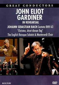 John Eliot Gardiner in Rehearsal - (Region 1 Import DVD)
