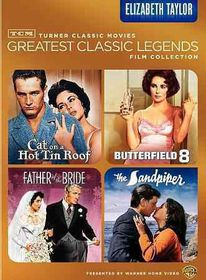 Tcm Greatest Films:Elizabeth Taylor - (Region 1 Import DVD)