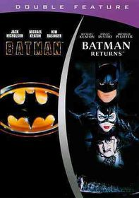 Batman/Batman Returns - (Region 1 Import DVD)