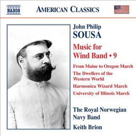 Sousa: Music For Wind Band Vol 9 - Music For Wind Band - Vol.9 (CD)