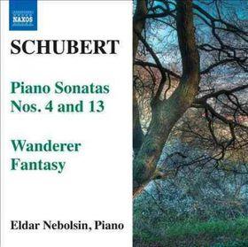 Schubert: Piano Sonatas Nos 4 And 13 - Piano Sonatas Nos.4 & 13 (CD)