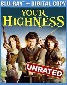Your Highness - (Region A Import Blu-ray Disc)