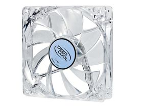 Deep Cool XFAN 120MM Clear Fan with Red  LED