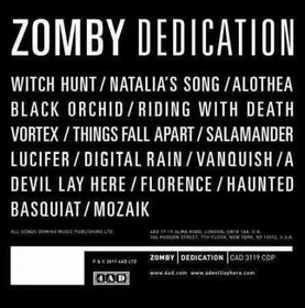 Zomby - Dedication (CD)