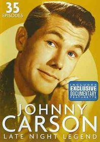 Johnny Carson:Late Night Legend - (Region 1 Import DVD)