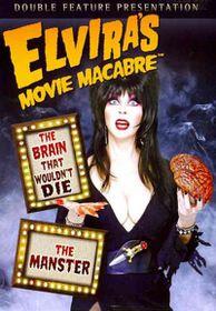 Elvira's Movie Macabre:Brain That Wou - (Region 1 Import DVD)
